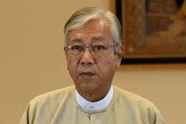 Presiden Myanmar Htin Kyaw. - Dok, Kepresidenan Myanmar