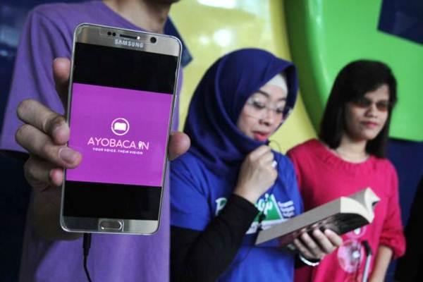 Layanan buku digital bagi penyandang disabilitas. - JIBI/Nurul Hidayat