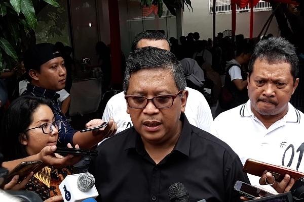Sekretaris Jenderal PDI Perjuangan Hasto Kristiyanto - Bisnis/Aziz Rahardyan