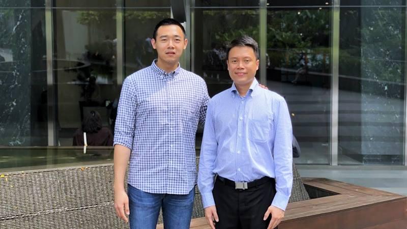 Co-founder dan CEO Lubna.io Kevin Cahya dan Co-founder Lubna.io Eddy Hartanto. - dok. East Ventures