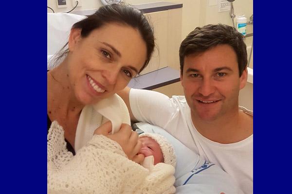 PM Selandia Baru Jacinda Ardern melahirkan bayi perempuan di Auckland City Hospital Kamis (21/6 - 2018). Foto diambil dari akun instagram resminya @jacindaardern.