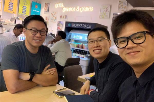 Dari kiri ke kanan, Managing Partner East Ventures Willson Cuaca, CEO 7.5 Degree Li Yufu, dan Chief Editor Lin Xibang. - dok. East Ventures