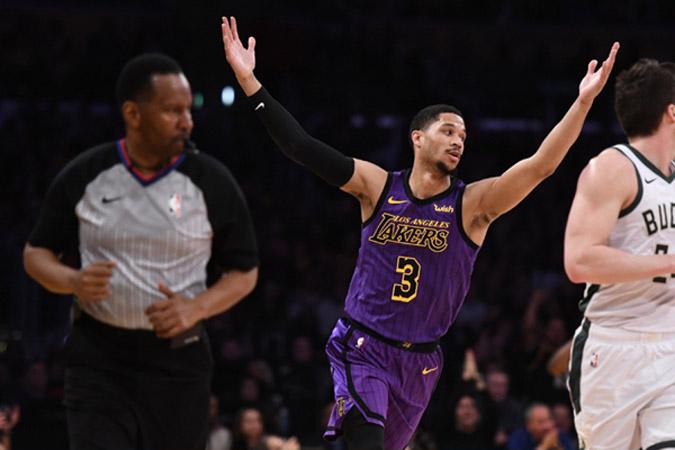 Pebasket LA Lakers Josh Hart - Reuters