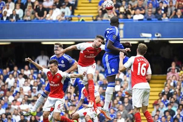 Pertemuan Chelsea vs Arsenal musim lalu - Reuters
