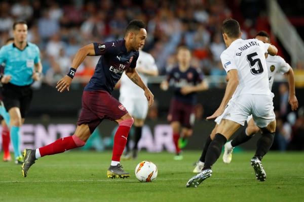 Pertandingan leg kedua semifinal Liga Eropa Valencia vs Arsenal, Jumat (10/5/2019) dini hari - Reuters