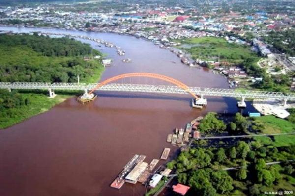 Palangkaraya di Kalimantan Tengah - Istimewa