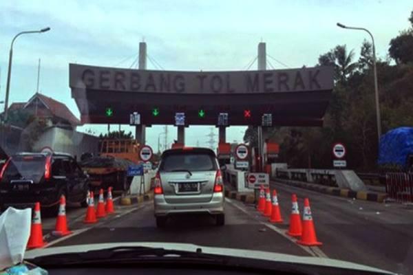 Gerbang Tol Merak - Istimewa