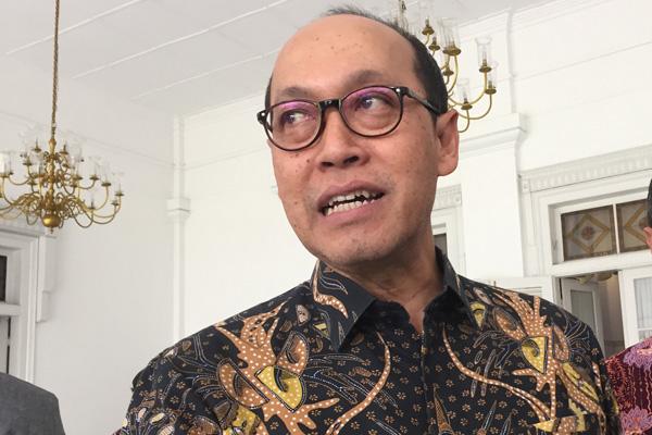 Sigit Muhartono,Direktur Umum PT Jasa Angkasa Semesta (JAS). - Bisnis/Wisnu Wage Pamungkas