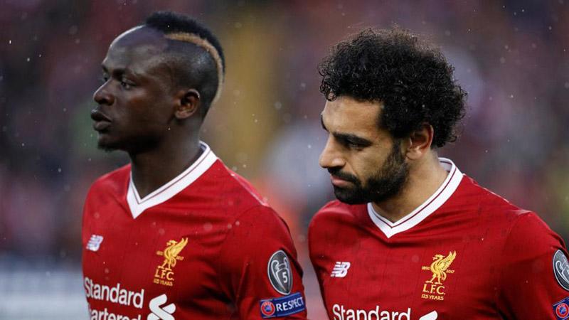 Dua ujung tombak Liverpool, Mohamed Salah (kanan) dan Sadio Mane. - Reuters