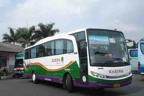 Ilustrasi - Bus Karina - Bisnis/Istimewa