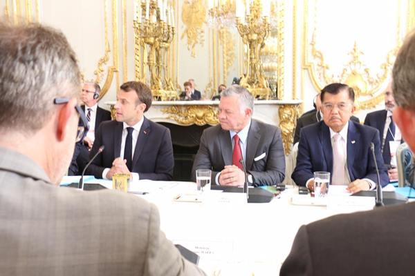 Wakil Presiden Jusuf Kalla menghadiri Christchurch Call to Action yang digelar di Paris Prancis. - Istiemwa