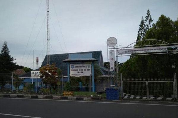 Kantor PDAM Kota Ternate, Maluku Utara. - Antara/Abdul Fatah
