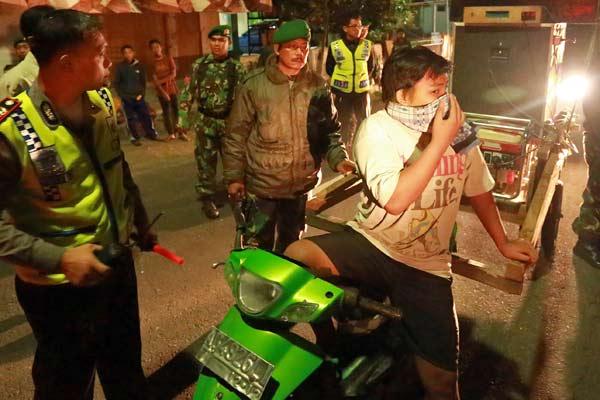 Sahur on the road rawan tawuran - Antara