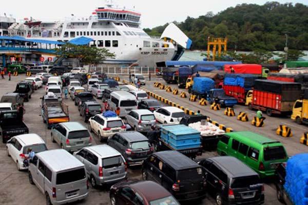 Pelabuhan Merak di Provinsi Banten. - Antara/Weli Ayu Rejeki