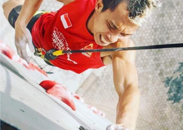 Aspar Jaelolo, atlet panjat tebing Indonesia di Asian Games 2018 - Instagram Aspar Jaelolo