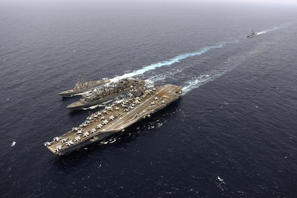 Kapal Induk Amerika Serikat John C Stennis - public.navy.mail