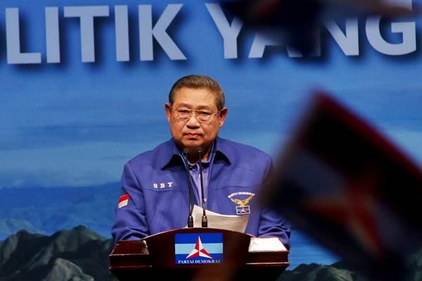 Ketua Umum Partai Demokrat Susilo Bambang Yudhono - ANTARA/Rivan Awal Lingga