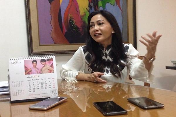 Presiden Direktur PT Pasaraya Tosersajaya Medina L Harjani saat ditemui Bisnis Indonesia di Kantornya -  Putri Zakia Salsabila