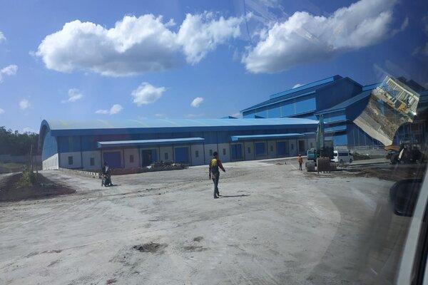 Pabrik Gula RMI di Desa Rejoso, Kecamatan Binangun, Kabupaten Blitar.