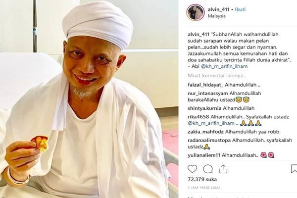 Ustaz Arifin Ilham - Instagram @alvin_411