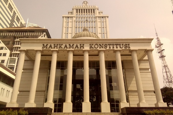 Gedung Mahkamah Konstitusi Republik Indonesia di Jakarta. - Bisnis.com/Samdysara Saragih