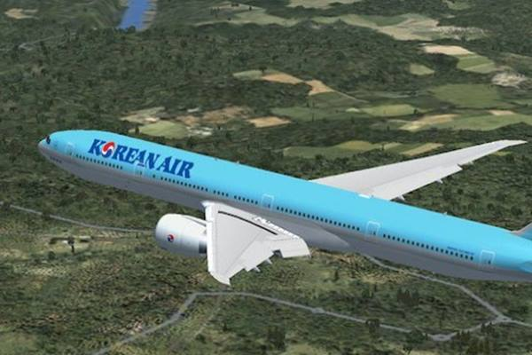 Ilustrasi - Korean Air - Bisnis/Antara