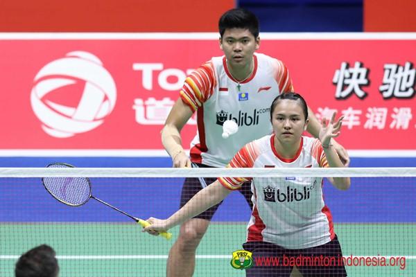 Praveen Jordan-Melati Daeva di ajang Piala Sudirman 2019 - Badminton Indonesia