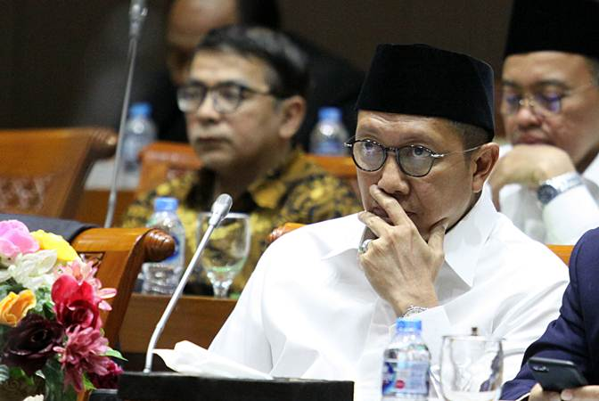 Menteri Agama Lukman Hakim Saifuddin. - ANTARA/Reno Esnir