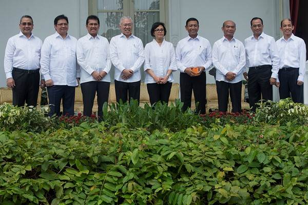 Menteri Kabinet Kerja - Antara/Widodo S. Jusuf