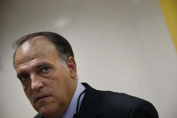 Javier Tebas, Presiden La Liga Spanyol - Reuters/Susana Vera