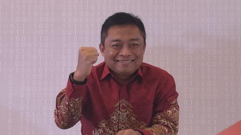 Direktur Utama PT Telekomunikasi Indonesia (Persero) Tbk. Ririek Adriansyah
