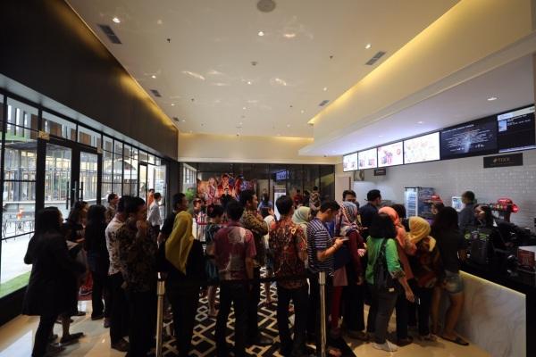 Cinemaxx di District 1 Meikarta memiliki empat studio yang mampu menampung penonton hingga 400 orang setiap hari. - Bisnis