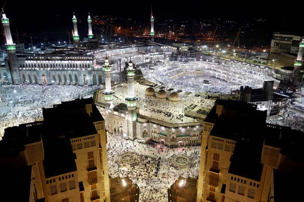 Masjidil Haram. - Reuters/Ahmed Jadallah
