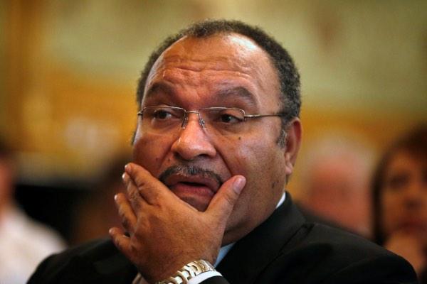 Perdana Menteri (PM) Papua Nugini Peter O'Neill dalam sebuah kesempatan di Sydney, Australia pada Kamis (29/11/2012). - Reuters/Tim Wimborne