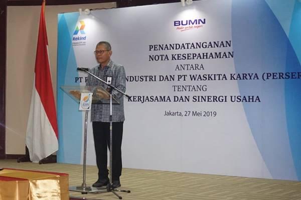 President Director PT Waskita Karya (Persero) Tbk I Gusti Ngurah Putra - Istimewa