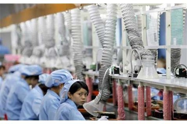 Manufaktur China - Reuters