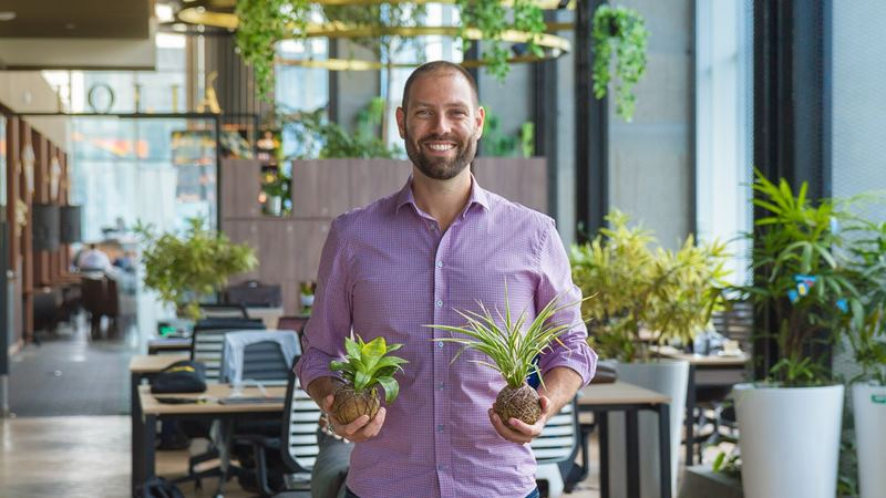 CEO and Co-Founder of Greenhouse Drew Calin. - dok. Greenhouse