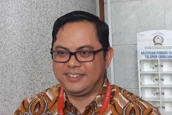 Komisioner Komisi Pemilihan Umum (KPU) Viryan. -Bisnis.com - Samdysara Saragih
