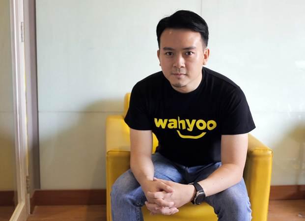 CEO Wahyoo Peter Shearer. - Bisnis/Felix Jody Kinarwan