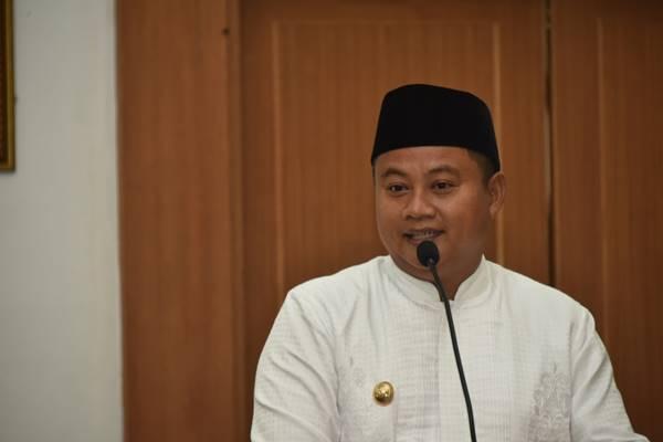 Pengurus Harian DPW PPPP Jawa Barat (Jabar), yang juga Wagub Jabar Uu Ruzhanul Ulum.JIBI/BISNIS - Wisnu Wage