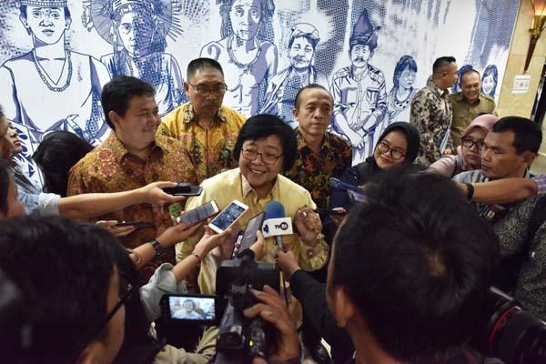 Menteri Lingkungan Hidup dan kehutanan (LHK) Siti Nurbaya Bakar. - Istimewa
