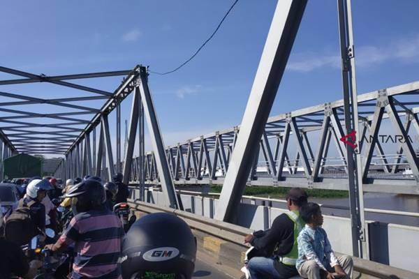 Jembatan paralel Landak, Pontianak - Antara