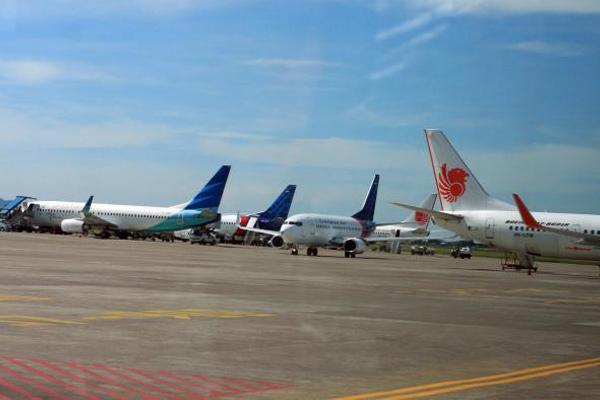 Ilustrasi - Pesawat udara dari sejumlah maskapai penerbangan. - Bisnis/Istimewa
