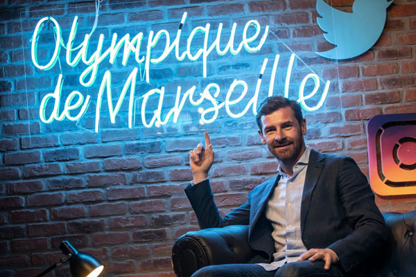 Villas-Boas ditunjuk pelatih baru Olympique Marseille. - Twitter@OM_English