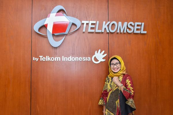 Direktur Utama PT Telekomunikasi Selular (Telkomsel) Emma Sri Martini. - dok. Telkomsel