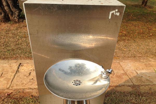 Keran air minum atau tap water di Lapangan Banteng. - JIBI/Muhammad Ridwan