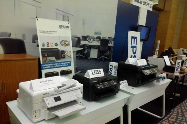 Sejumlah produk printer dari Epson.  - Bisnis/swi