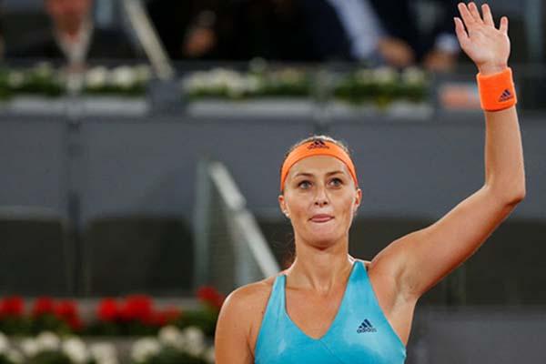 Petenis Prancis berdarah Serbia, Kristina Mladenovic - Reuters/Susana Vera