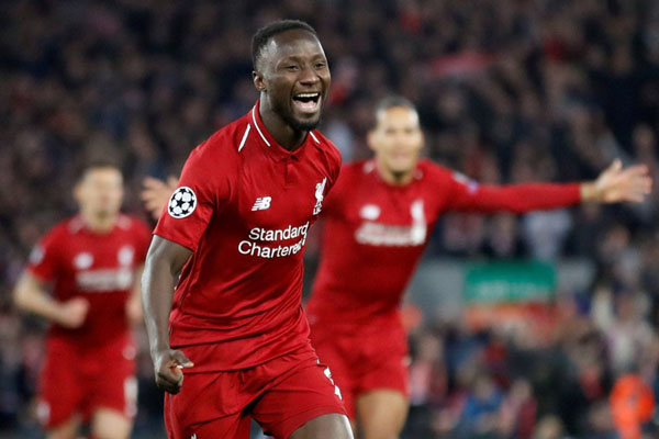 Gelandang Liverpool Naby Keita - Reuters/Carl Recine