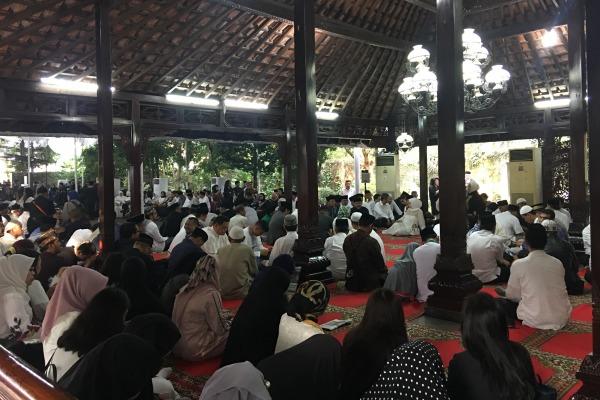 Suasana di pendopo Cikeas Minggu (2/6/2019) pagi/JIBI - Bisnis/Akbar Evandio